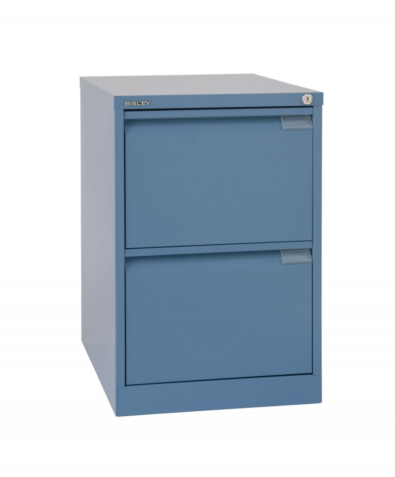 BS Filling Cabinets - 1623 Foolscap with 2 drawers flush front BS2E