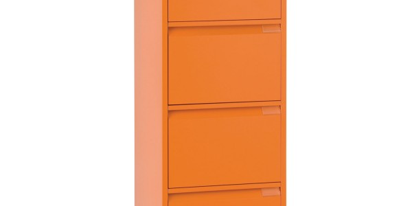 BS Filling Cabinets - 1643 Foolscap with 4 drawers Flush Front