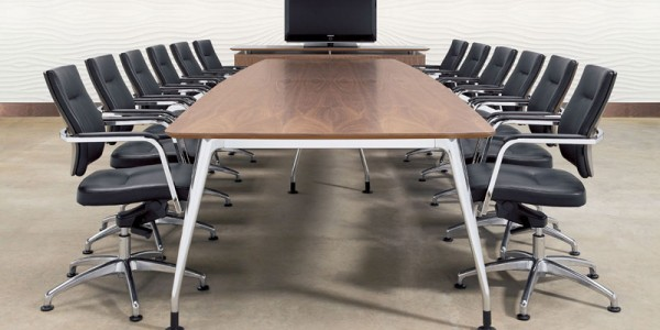 DNA Boardroom Table With Vibe Chairs