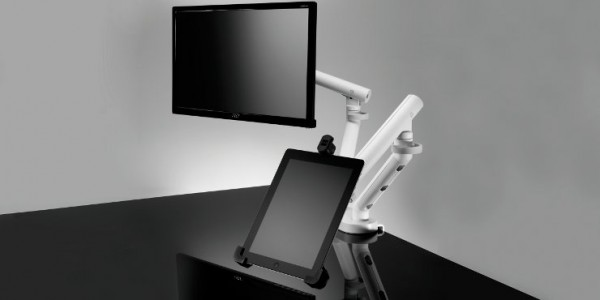 Flo-Dual-Monitor-Tablet-Mount