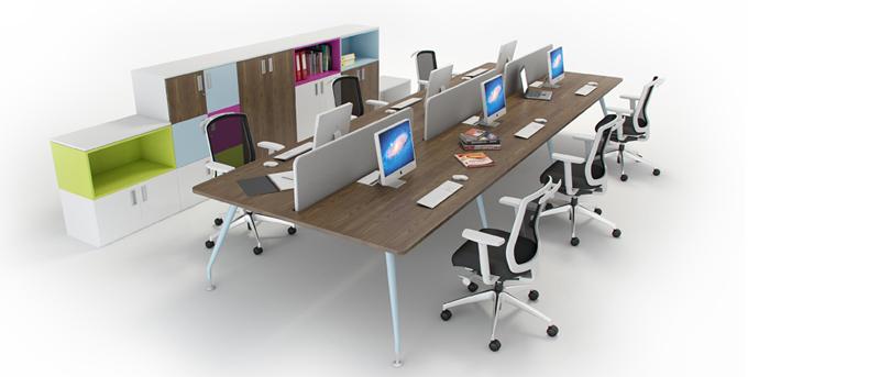 OD2 6 Person Bench Desk Module 2