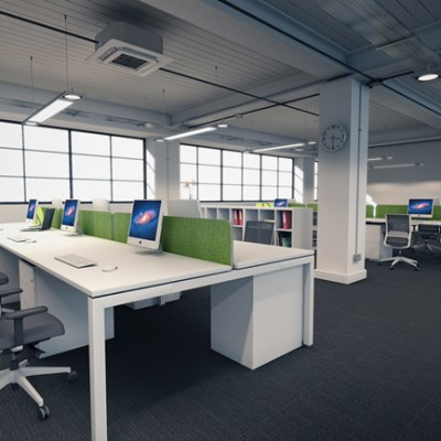 OD3 Desk and Storage