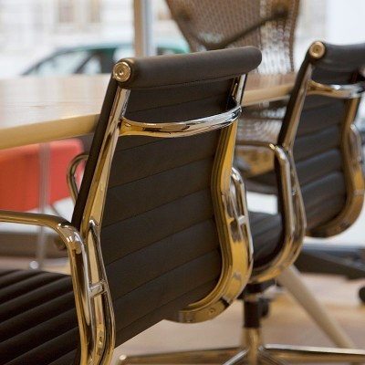 Eames Style Ribbed chairs