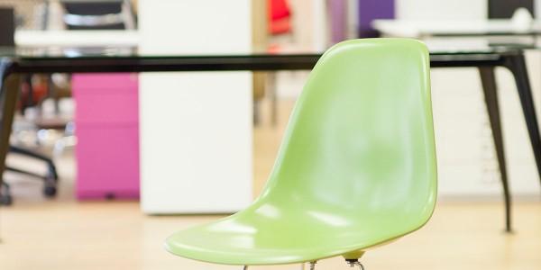 Eiffel style chair with Chrome base