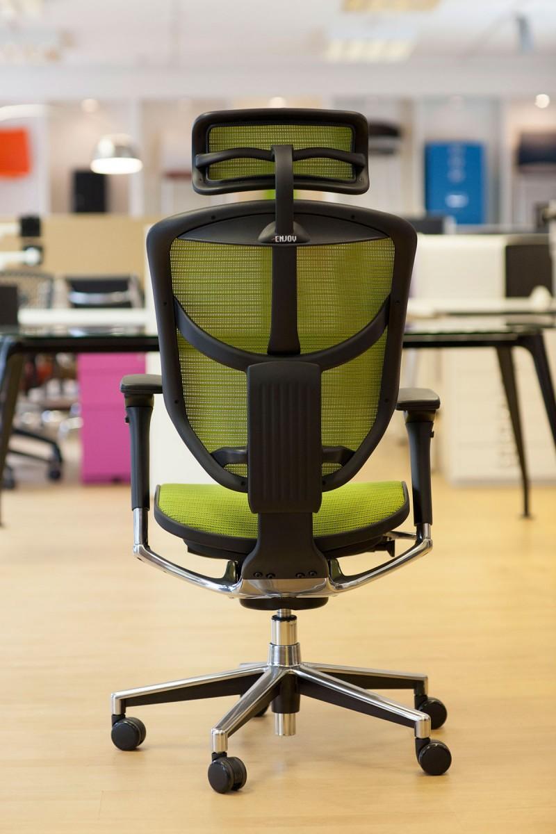 Enjoy Mesh chair in Green back