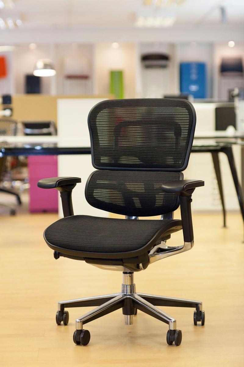 Ergohuman Black mesh chair