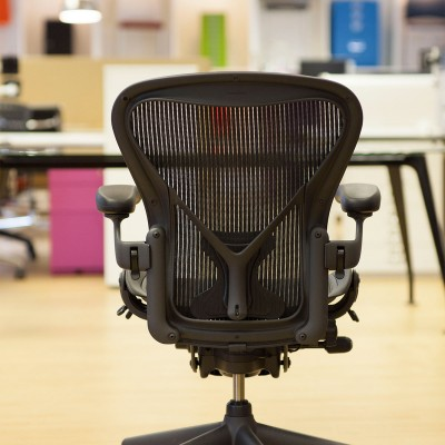 Herman Miller Aeron chair back