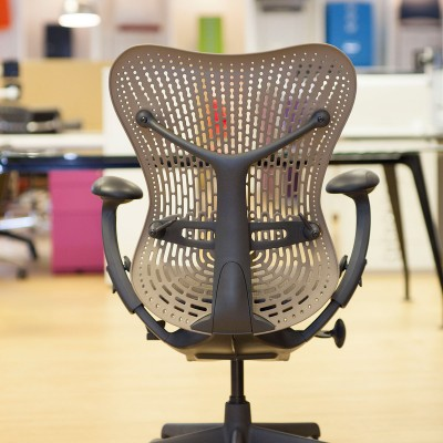 Herman Miller Mirra chair back