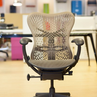 Herman Miller Mirra chair front 1