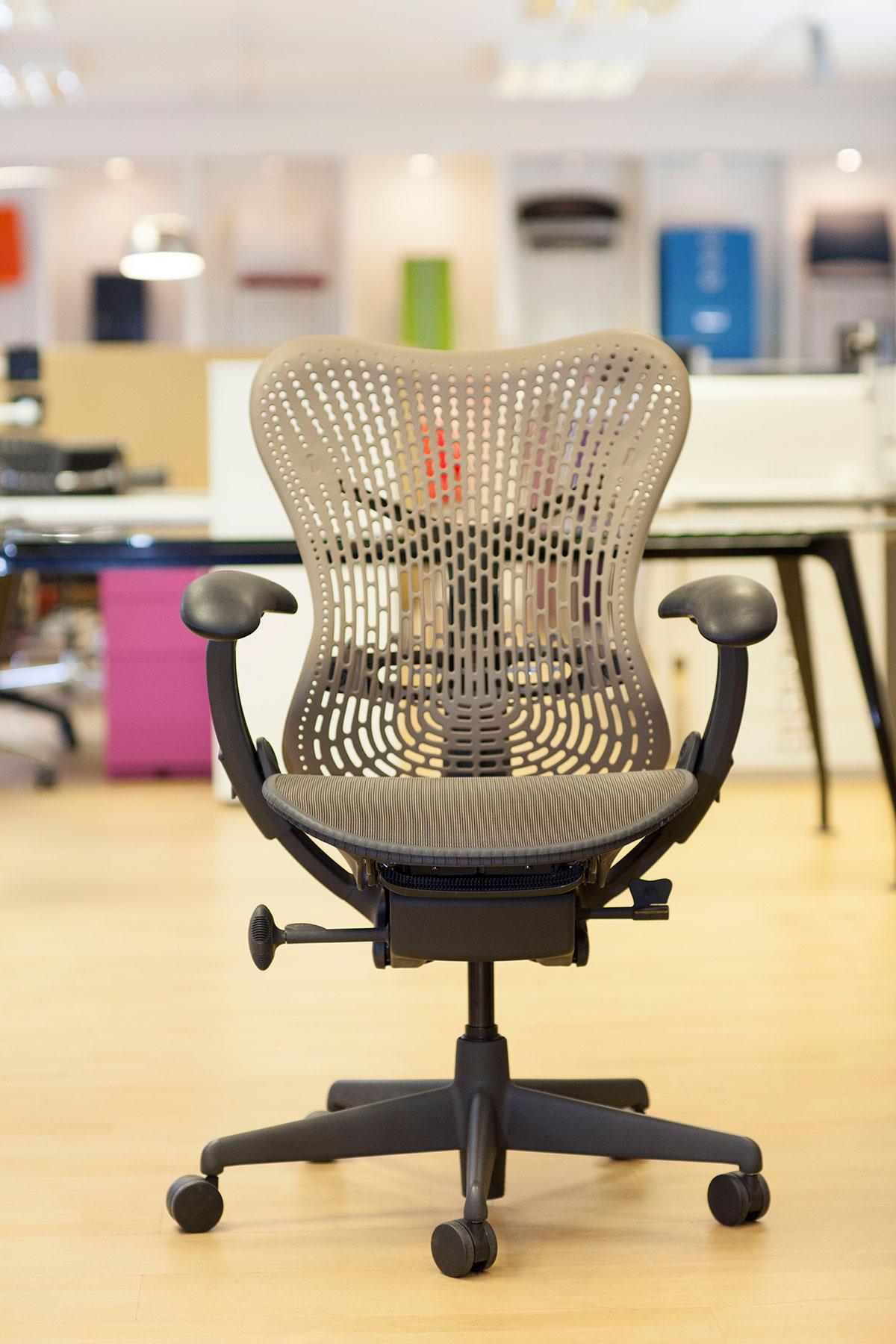 Herman Miller Mirra chair back