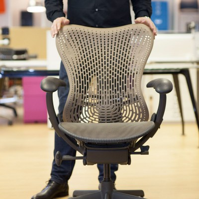 Herman Miller Mirra chair front