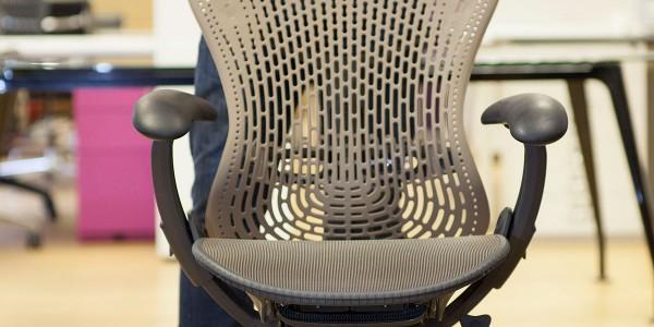 Herman Miller Mirra chair front