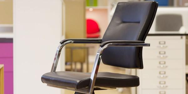 Verco Vibe Chair in Black hide